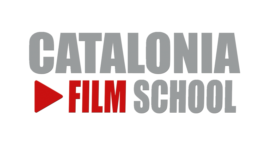 logo gris Catalonia Film School