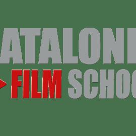 logo gris Catalonia Film School